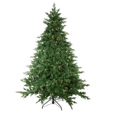 Northlight 7.5' Prelit Artificial Christmas Tree Medium Minnesota Balsam Fir - Warm White LED Lights