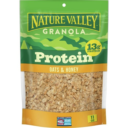 Nature Valley Protein Oats 'n Honey Crunchy Granola - 11oz - image 1 of 3