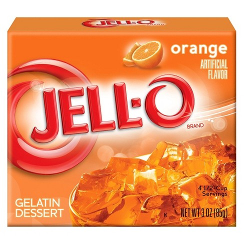 Jell-O Orange Gelatin 3 oz - image 1 of 1