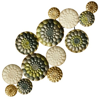 18.5  Wreathed Composition Decorative Wall Art - StyleCraft