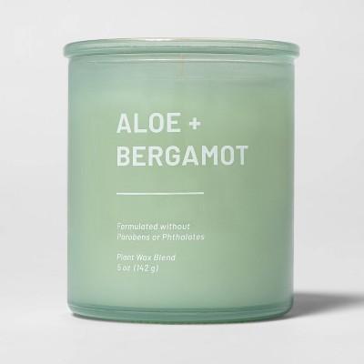 5oz Glass Jar Aloe and Bergamot Candle - Project 62™