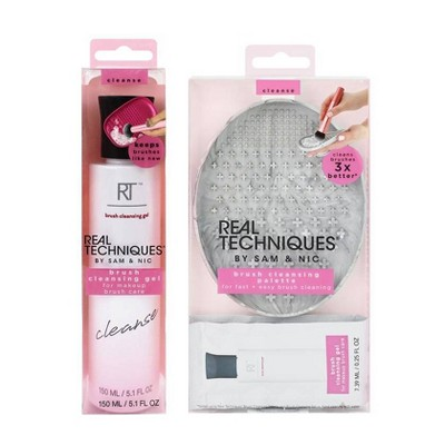 Real Techniques Cleansing Duo - Cleansing Palette & Cleansing Gel