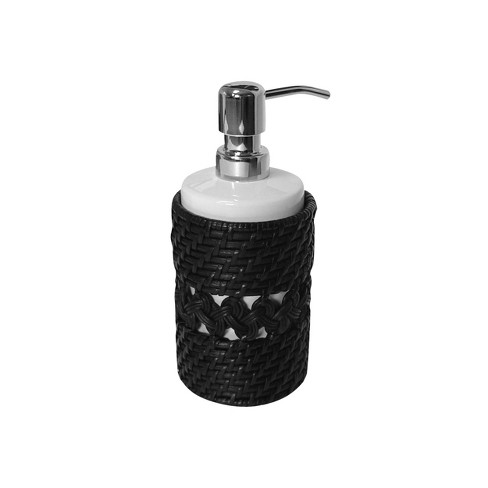 Sebrina Lotion Dispenser Espresso Brown - Elegant Home Fashions - image 1 of 2