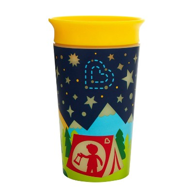 Munchkin Miracle 360 Glow in the Dark Sippy Cup Camping - 9oz