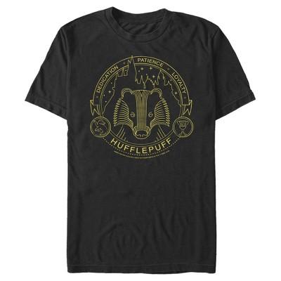 Men's Harry Potter Hufflepuff House Emblem T-Shirt