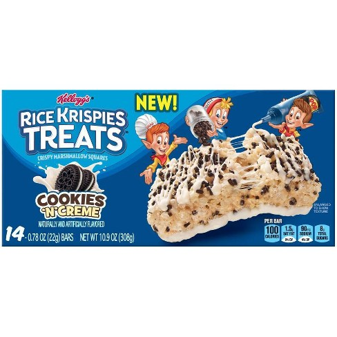 Rice Krispies Treats Cookies & Cream Marshmallow Treats - 14ct - image 1 of 4