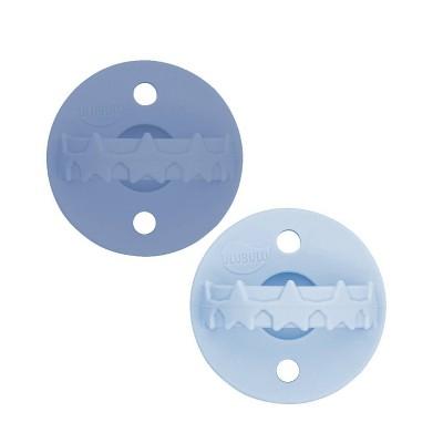 Ulubulu 2pk Silicon Soother Pacifier - Dark Blue