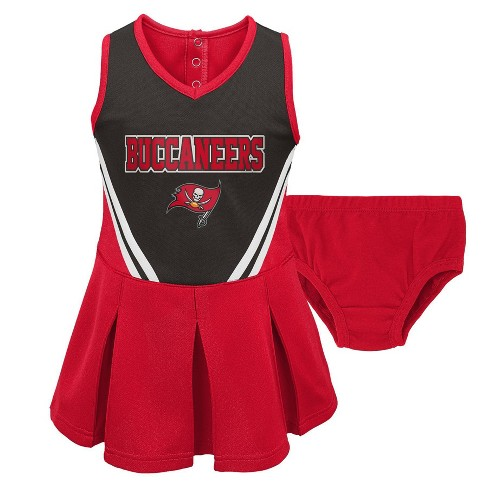 2cb90252 NFL Tampa Bay Buccaneers Toddler Girls' In the Spirit Cheer Set - 3T