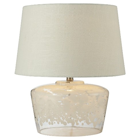 Lazy Susan Flurry Frit Well Boutique Lamp - image 1 of 1