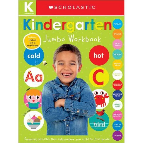 Jumbo Kindergarten -  Workbook by Scholastic Inc. & Scholastic Early Learners (Paperback) - image 1 of 1