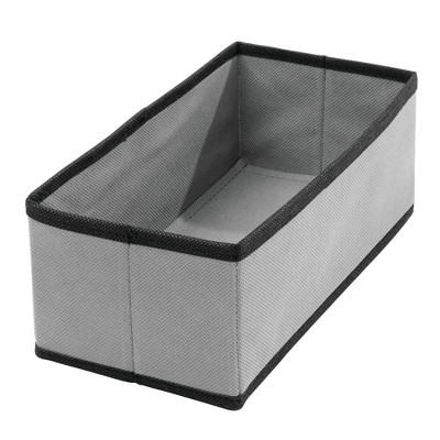 mDesign Soft Fabric Dresser Drawer and Closet Storage Organizer, 4 Pack