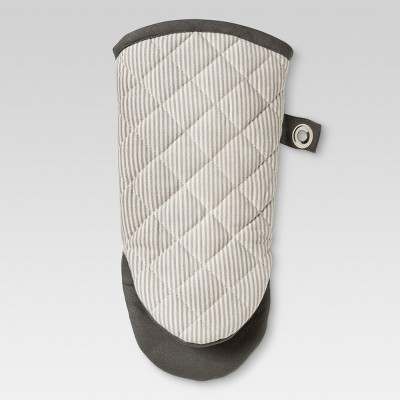 Gray Kitchen Textiles Oven Mitt - Threshold™