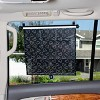Disney Baby by J.L. Childress Pull-Down Car Sun Shade Mickey - 2pk - image 3 of 4