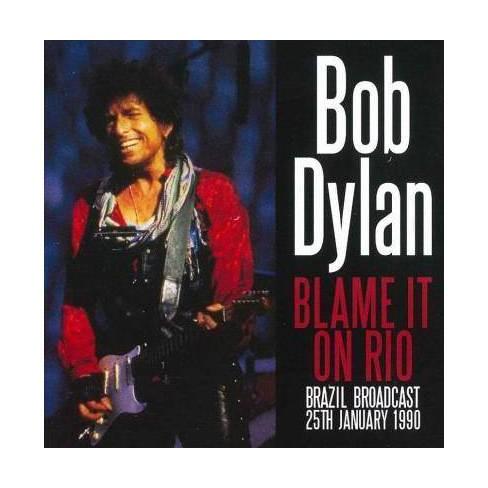 Bob Dylan - Blame It On Rio (CD) - image 1 of 1