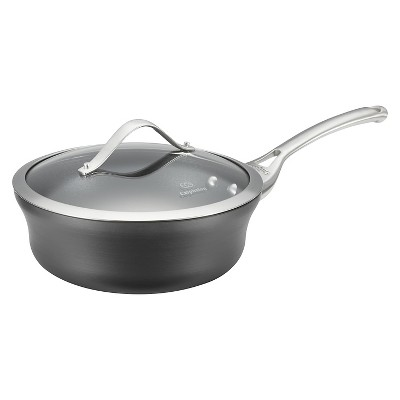 Calphalon Contemporary 2.5 Quart Non-stick Dishwasher Safe Shallow Sauce Pan with Cover