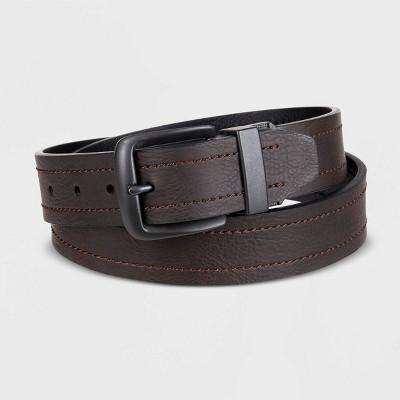 Dickies Men's Reversible Belt - Brown