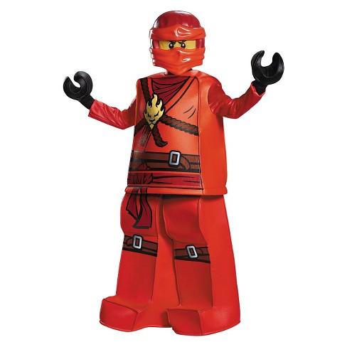Disguise Lego Ninjago Boys Kai Prestige Costume - image 1 of 1