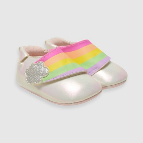 Baby Girls' Ro+Me by Robeez Phoebe Sneakers - Rose Gold - image 1 of 4