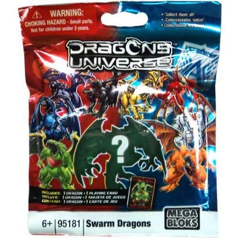 Mega Bloks Dragons Universe Series 2 Swarm Dragons Minifigure Mystery Pack #95181 - image 1 of 1