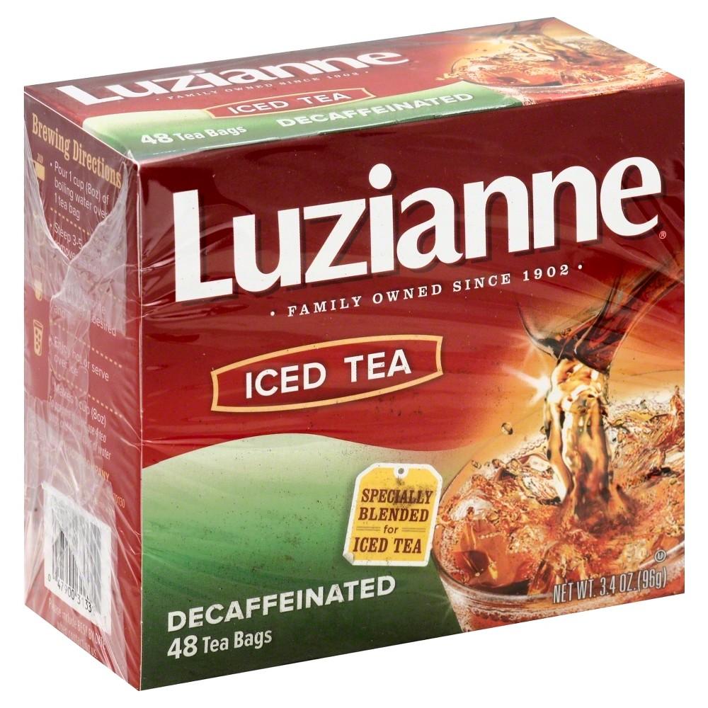 Luzianne Decaf Iced Tea - 48ct