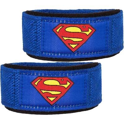 Performa Premium Padded Weight Lifting Straps - Superman