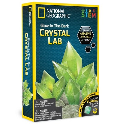 National Geographic Glow-in-the-Dark Crystal Kit
