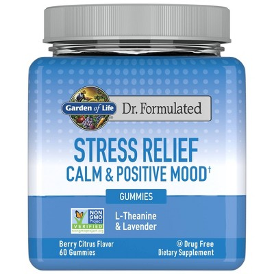 Garden of Life Dr. Formulated Adult Stress Relief Gummy - 60ct