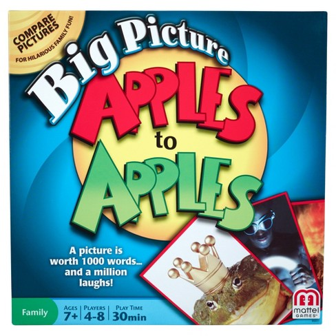 Apples To Apples Big Picture Game - image 1 of 5