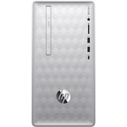 HP Pavilion 590 Desktop Computer AMD A12 16GB RAM 1TB HDD - AMD A12-9800 3.8 GHz - Mini-tower - DVD-Writer - AMD Radeon R7 Graphics - Windows 10 Home