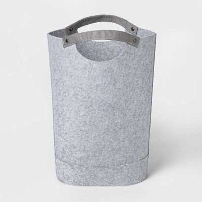Felt Hamper Gray - Threshold™