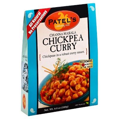 Patel Channa Masala Chickpea Curry - 9.9oz