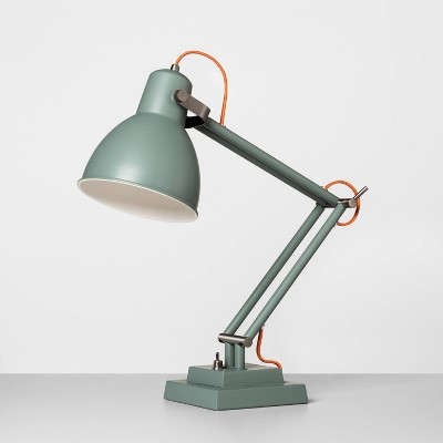 Metal Table Lamp Foggy Day Green - Hearth & Hand™ with Magnolia