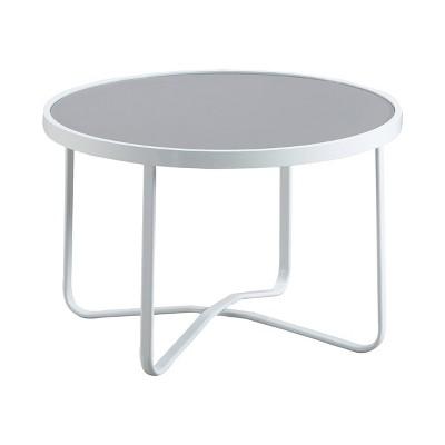 Mirabelle Outdoor Coffee Table - White - Adore Decor
