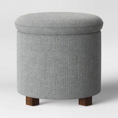Pamona Round Ottoman Gray - Project 62™