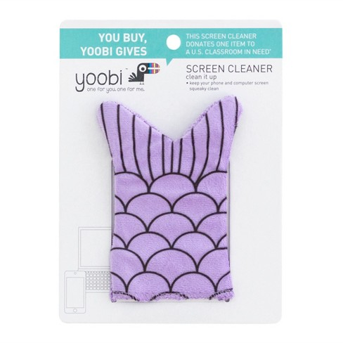 Mermaid Tail Screen Cleaner - Yoobi™ - image 1 of 2