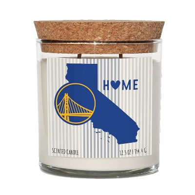NBA Golden State Warriors Home State Candle