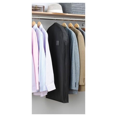 Whitmor Deluxe Suit Garment Bag - Black   Target b0b53efd0a0c3