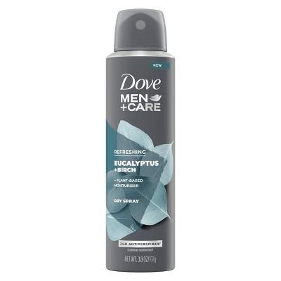 Dove Men+Care Dry Spray Eucalyptus & Birch - 3.8oz