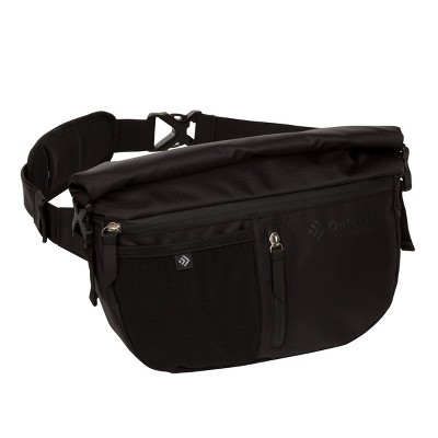 Outdoor Products Zion Roll Top Sling Waist Sling Pack - Black