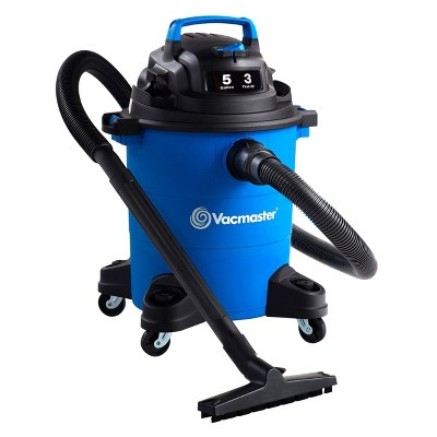 Vacmaster 5gal 3 Peak HP Wet/Dry Vacuum Cleaner