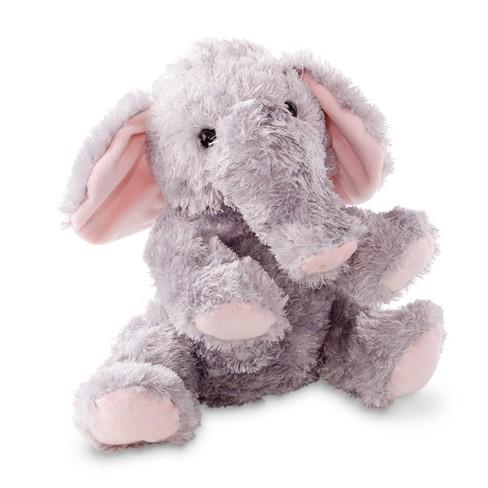 Melissa Doug Sterling Elephant Stuffed Animal Target
