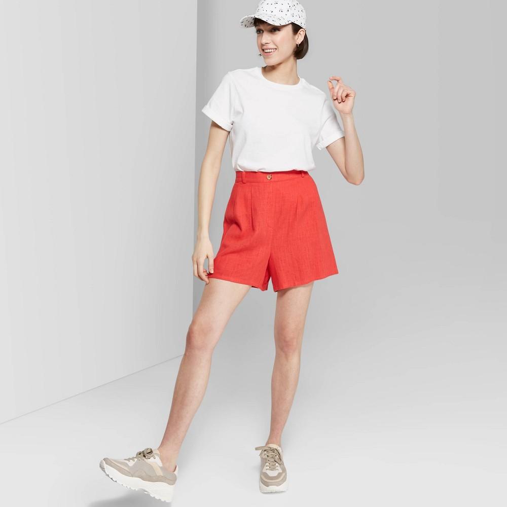 6423caf811f Womens Short Sleeve Crewneck Boxy T Shirt Wild Fable White M Fresh White