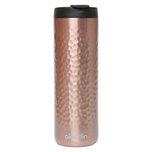 Aladdin Stainless Steel Textured Coffee Tumbler - Rose Gold (16oz) - image 1 of 1