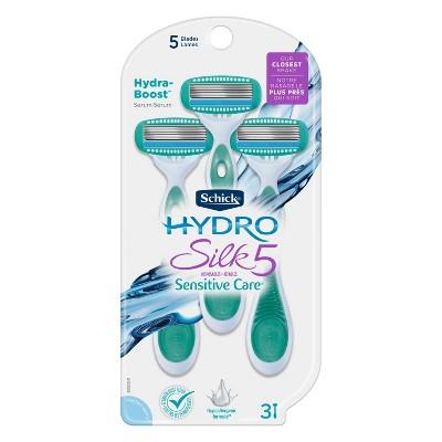 Schick Hydro Silk 5 Women's Disposable Razors - 3ct