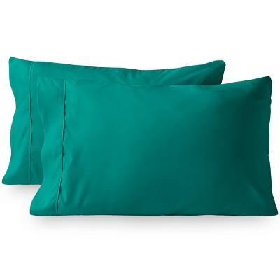 Bare Home Solid Ultra-Soft Microfiber Pillowcase Set
