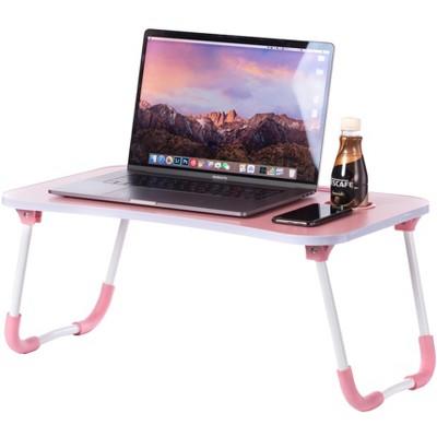 Bed Tray Laptop Foldable Table, Kids Lap Desk Homework Table