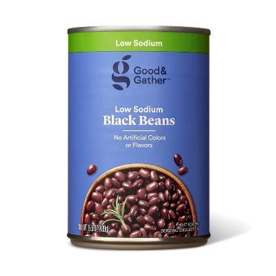 Low Sodium Black Beans  - 15.5oz - Good & Gather™