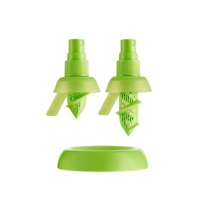 Lekue Set of 2 Citrus Sprayers with Base