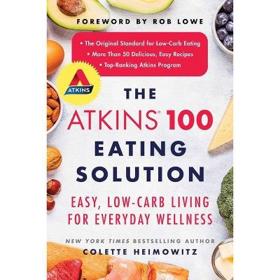 The Atkins 100 Eating Solution - by Colette Heimowitz (Paperback)