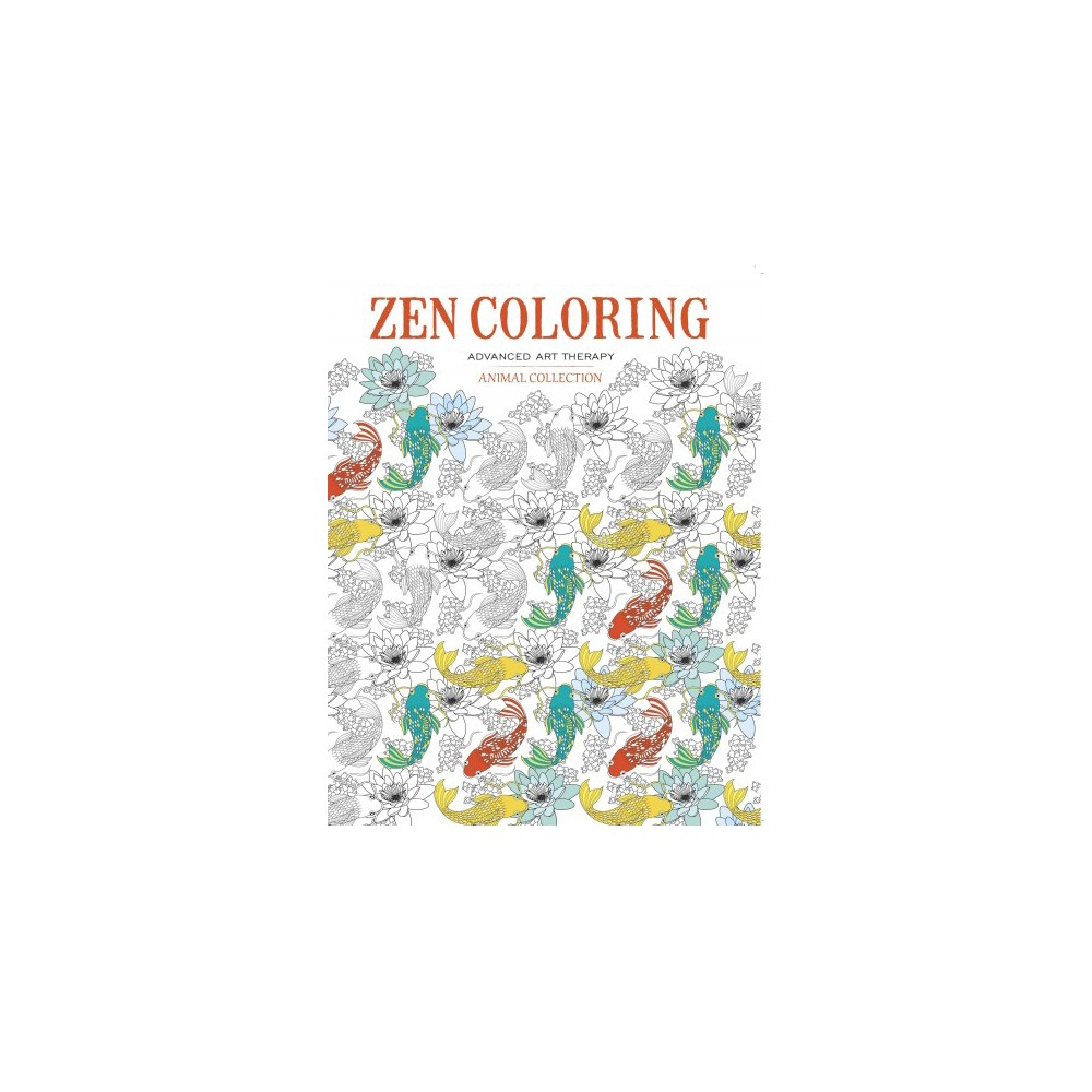 Zen Coloring - Animal Collection (Paperback)